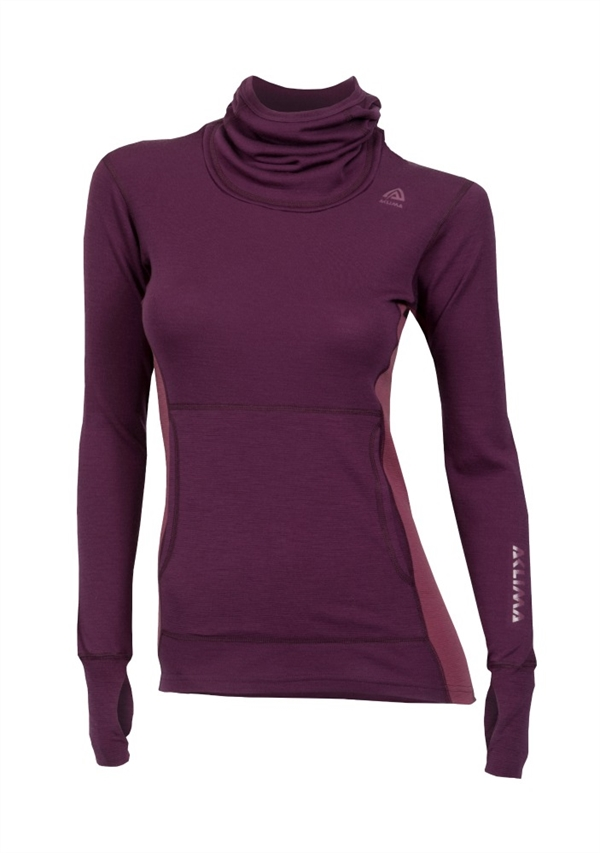 Aclima Warmwool Hood Sweater Women