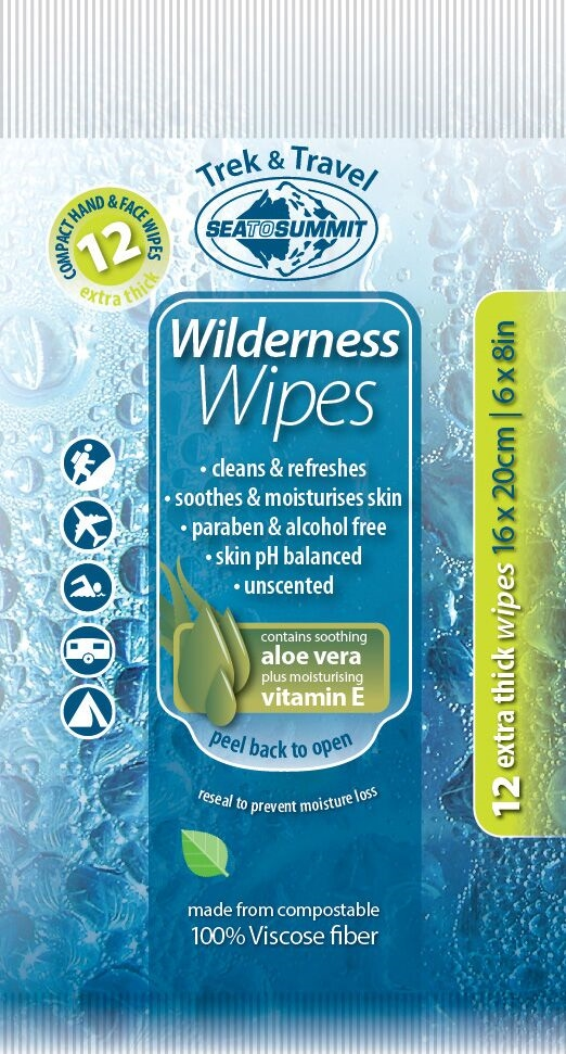 Sea to Summit Wilderness Wash Compact 12 wipes