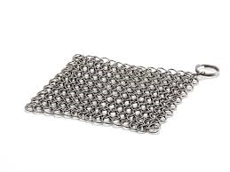 Petromax Chain mail cleaner for cast and wrough iron