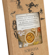 Forestia Fusili All´uovo med Kylling Bolognese