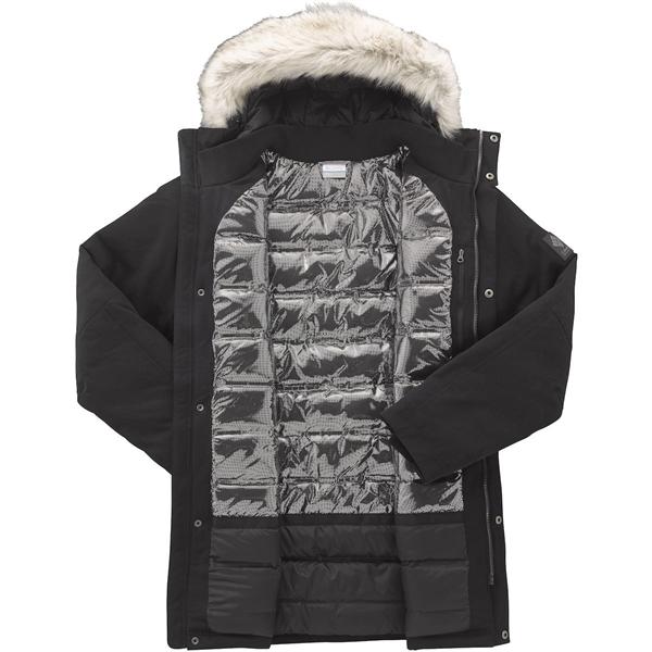 6036e538 Denne lette, fuldt forseglet, vandtætte og åndbare jakke leverer en  varmepakningskombination af 550 fill power-isolering og Omni-Heat termisk  reflekterende ...