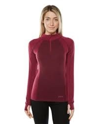 XTM Merino Ladies Zip Neck