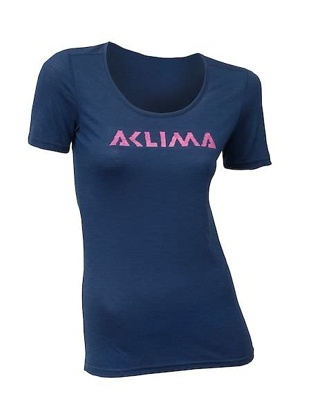 Aclima Lightwool t-shirt logo W