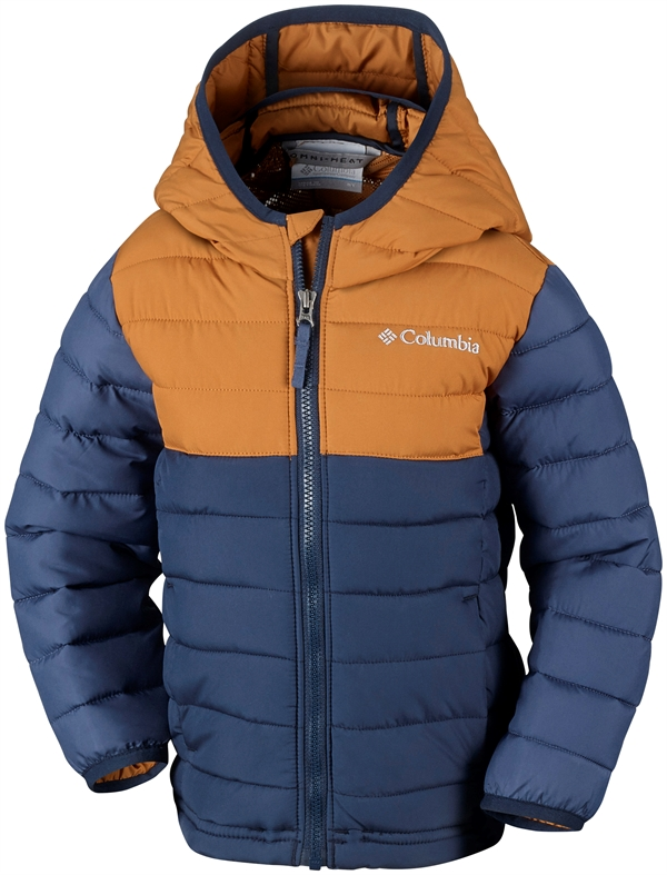 Columbia Powder Lite Boys Hooded Jacket