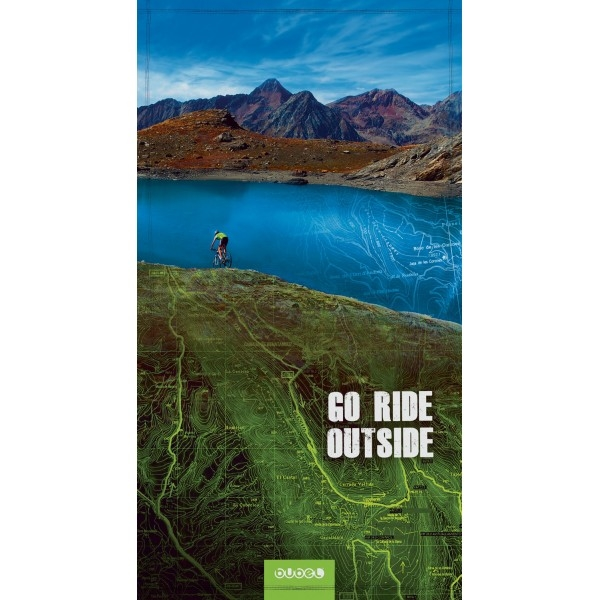 "Bubel Compact Towel ""Go Ride Outside"""