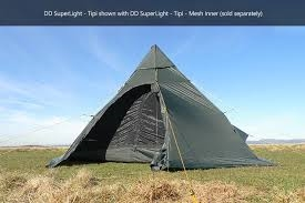DD Superlight Tipi incl mesh liner