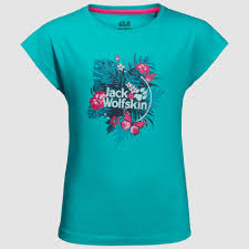 Jack Wolfskin Tropical T-shirt Girl